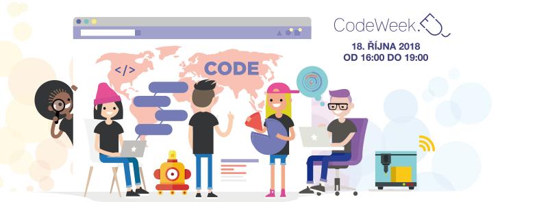 CodeWeek 2018 at FAV UWB – programming from gaming to